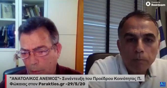 """Η Συνέντευξη του Μανώλη Τσαλικίδη στην εκπομπή """"Ανατολικός Άνεμος"""" – video"""