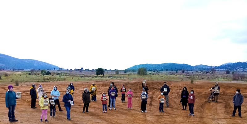 Έγινε η πρώτη δράση ενημέρωσης για την προστασία του Υγροτόπου των Αλυκών από πολίτες.